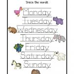 Worksheet For Days Of The Week For Kids | Kiddo Shelter | Free Printable Kindergarten Days Of The Week Worksheets