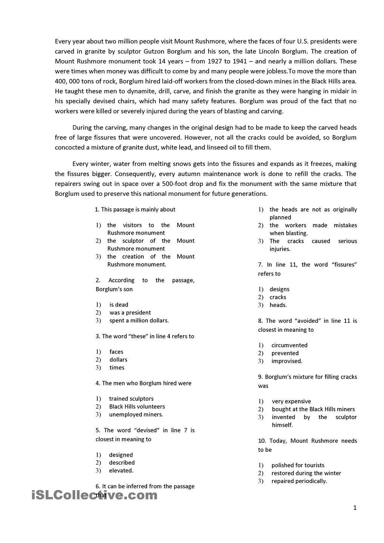 Worksheet : Free Printable Reading Comprehension Worksheets Grade 2 | Free Printable Middle School Reading Comprehension Worksheets