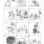 Worksheet : Jesus Feeds The Coloring Page Miracles Of For Kids   Printable Worksheets Miracles Jesus