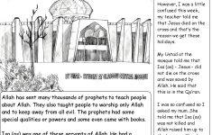 Printable Worksheets Miracles Jesus
