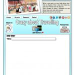 Write A Blog Entry Worksheet   Free Esl Printable Worksheets Made   Blog Worksheet Printable