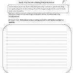 Writing Prompts Worksheets | Narrative Writing Prompts Worksheets | 6Th Grade Writing Worksheets Printable Free