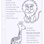 Zoo Animals Worksheet   This Worksheet Is Designed To Teach The | Free Printable Zoo Worksheets